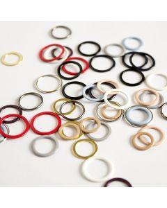 BH-Ringe fürs BH-Nähen in verschiedenen Grössen und Farben