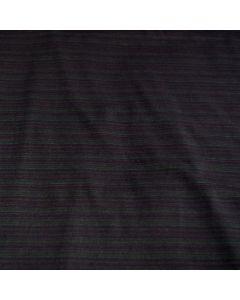 Unterwäsche-Stoff / Funktionsstoff in schwarz mit grünen Nadelstreifen