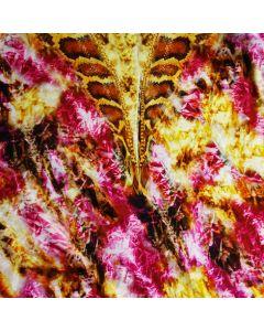 Lycra - Badelycra Stoff Panel mit Schlangenmuster