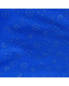 Kinder-Badelycra Stoff 'Marine' in blau