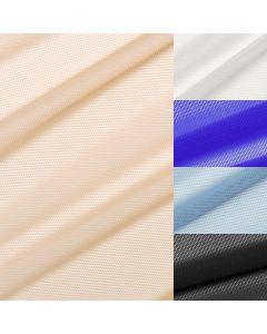 Powernet Netzstoff fürs BH-Nähen. Powernet wird fürs BH-Band werwendet. Erhältlich in weiss, schwarz, blau, rot und hautfarbe.
