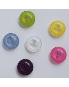 Knöpfe ' Sonne' Ø 11mm in 7 Farben
