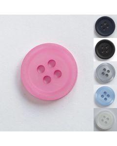Uni Knöpfe in 3 Grössen und 6 Farben