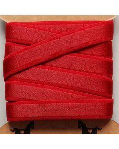 Trägergummi, Trägerband, rubinrot, 12mm breit, 4m