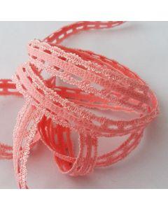 Trägergummi,  Trägerband, lachs, 14mm breit, 4m