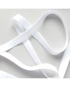 BH-Trägergummi - Trägerband in weiss, nicht glänzend