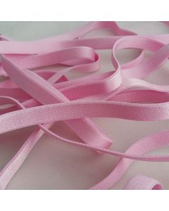 BH-Trägergummi, rosa - 10mm breit, 4m