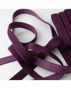 Trägergummi - Trägerband für BHs, Tops und Kleider in der Farbe Aubergine