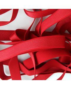 BH-Trägergummi, rubinrot, 19mm breit, 4m