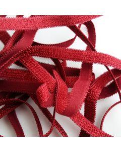 BH-Trägergummi, rubinrot, 10mm breit, 4m