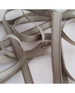 Trägergummi, helle Olive/Schlamm, 12mm breit, 4m