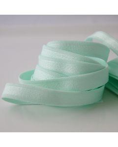 BH-Trägergummi - Trägerband in mint, leicht glänzend, 12mm breit
