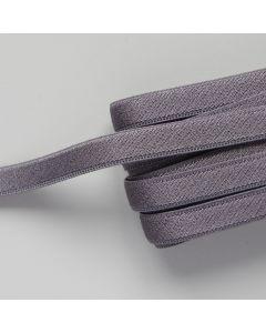 BH-Trägergummiband in stahlgrau - 10mm breit, 4m
