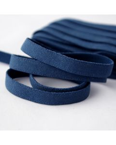 BH-Unterbrustgummi in dunkelblau - 8mm breit, 5m