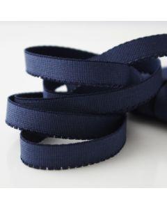 9mm breiter Unterbrustgummi für BHs in dunkelblau - für kleine BH-Körbchen geeignet.