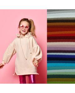 GOTS Kuschelsweat Stoff in 15 Farben
