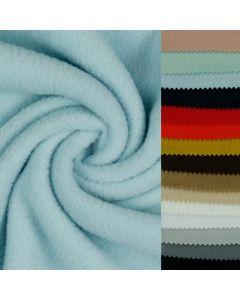 Leichter Fleece Stoff in 15 Farben - weicher Fleece Stoff für diverse Näharbeiten.