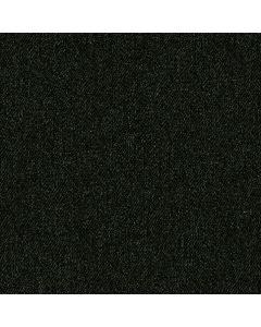 Weicher, bielastischer French Terry Stoff in dunkelgrün - der Stoff ist zwar French Terry, der Druck ahmt aber Jeans nach.